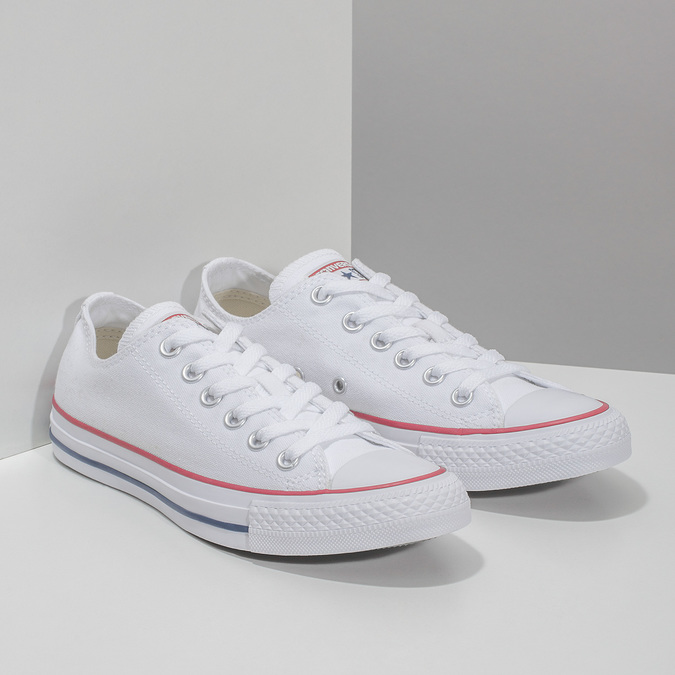 Ladies' tennis shoes converse, white , 589-1279 - 26
