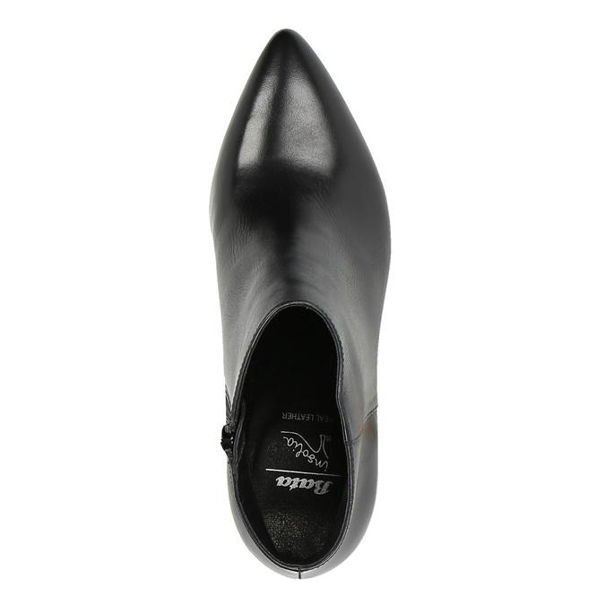 Ladies' ankle shoes insolia, black , 794-6629 - 19