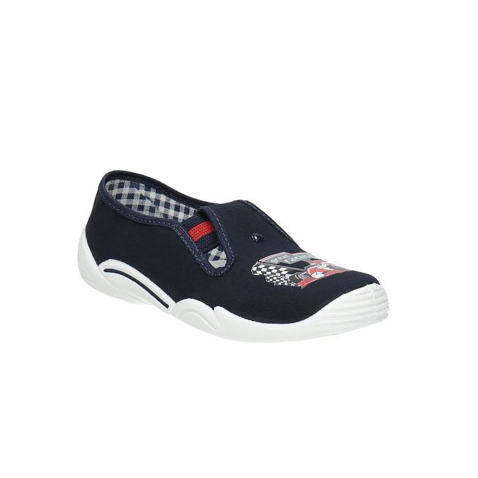Children's slippers mini-b, blue , 379-9211 - 13