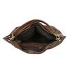 Brown Hobo-style handbag bata, brown , 961-3808 - 15