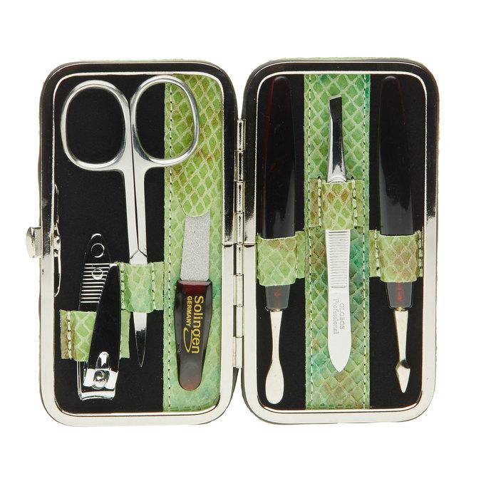 Manicure set in a leather case bata, multicolor, 944-0322 - 17