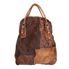 Leather handbag with rigid straps a-s-98, 966-0001 - 26