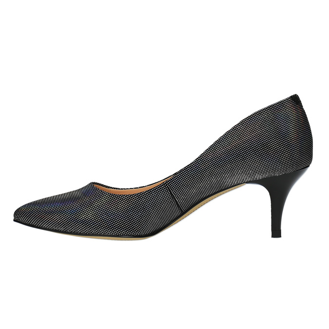 Ladies' pumps with colourful glitter bata, 629-0631 - 26