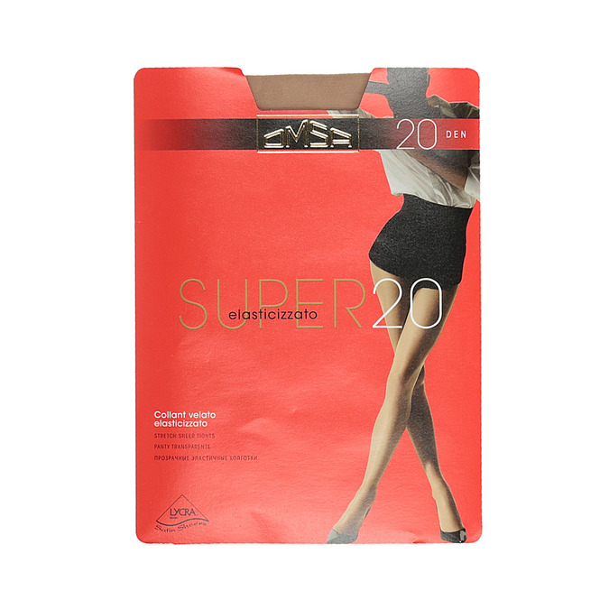 Ladies' tights omsa, brown , 919-3385 - 13
