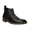 Leather Chelsea Boots bata, black , 894-6666 - 13