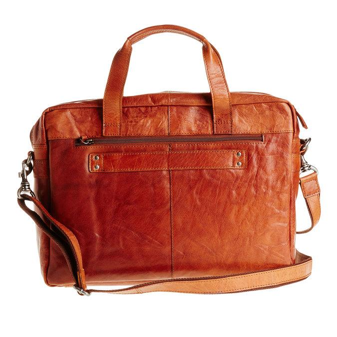 Leather bag bata, brown , 964-3153 - 26