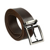 Brown leather belt bata, brown , 954-4129 - 13