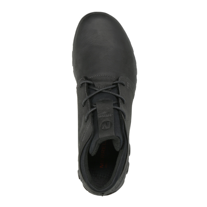 Men's leather sneakers merrell, black , 806-6836 - 19