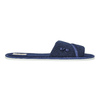 Ladies' slippers with bow bata, blue , 579-9609 - 15