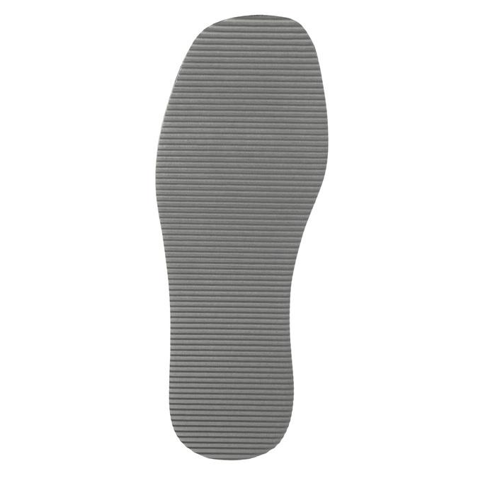 Men's slippers with full toe bata, blue , 879-9605 - 26