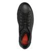 Ladies' leather sneakers bata, black , 524-6349 - 19