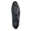 Patterned leather shoes bata, blue , 826-9813 - 19