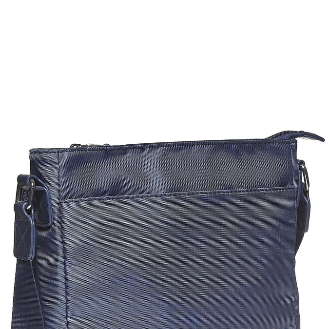Men's crossbody-style bag bata, blue , 961-9508 - 17