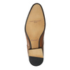 Brown leather shoes with embellishments conhpol, brown , 826-3837 - 26