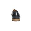 Blue leather shoes bata, blue , 826-9794 - 17