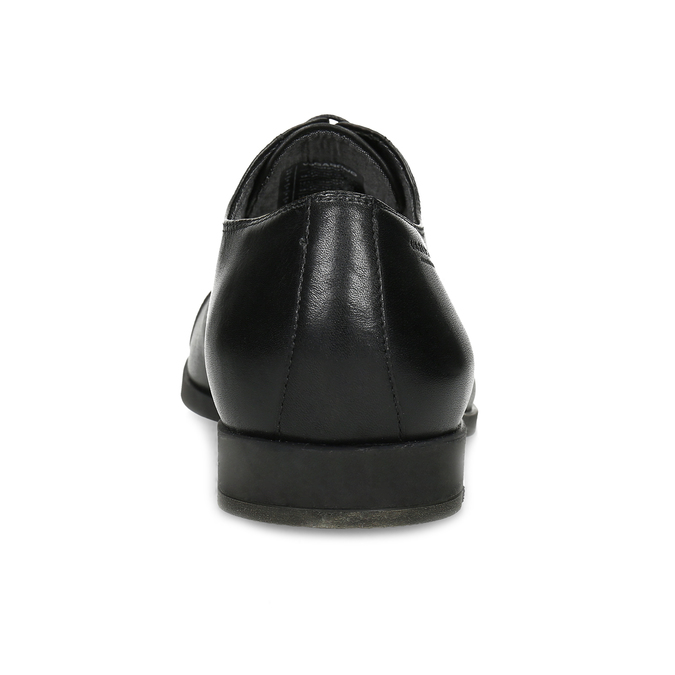Black leather Oxford shoes vagabond, black , 824-6048 - 15
