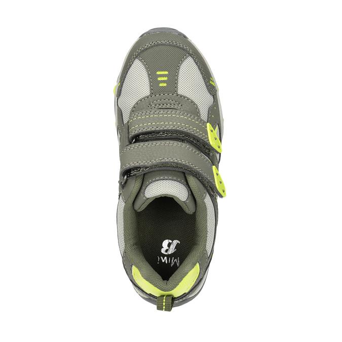 Children's sports sneakers mini-b, green, 411-7605 - 19