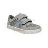 Children's sneakers with Velcro fasteners mini-b, gray , 411-2604 - 13