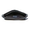 Crossbody handbag with perforated flap bata, blue , 961-9709 - 15