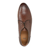 Casual brown leather shoes bata, brown , 826-4807 - 19