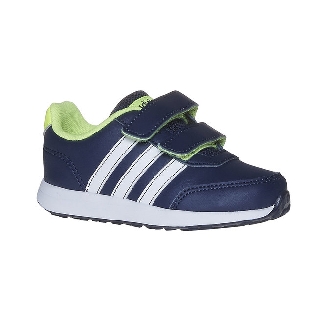 Children's sneakers with Velcro fasteners adidas, blue , 109-9163 - 13