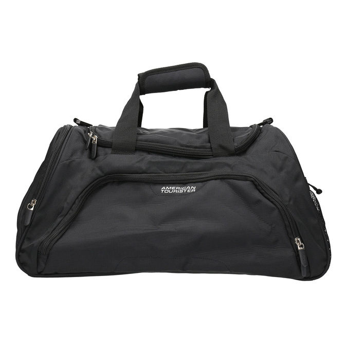 Black travel bag american-tourister, black , 969-6164 - 19