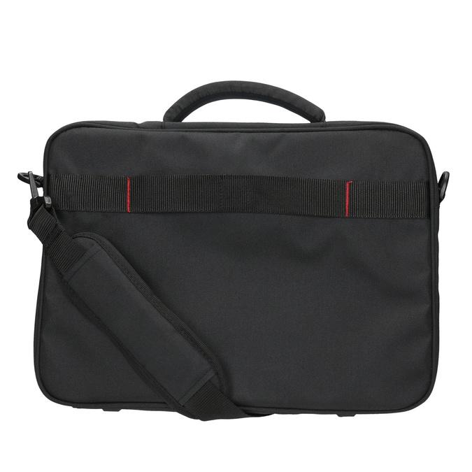 Laptop bag, black , 969-2393 - 26