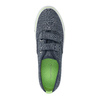Children's sneakers with Velcro north-star-junior, blue , 419-9611 - 19
