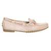 Ladies' leather moccasins gabor, pink , 613-5014 - 15