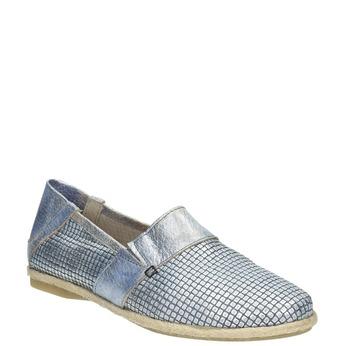 Ladies' slip-on-style shoes bata, blue , 516-9604 - 13