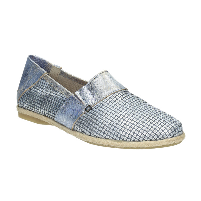 Ladies' slip-on-style shoes bata, blue , 516-9604 - 13