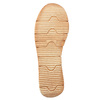 Leather sandals with a distinctive sole weinbrenner, brown , 566-4627 - 26