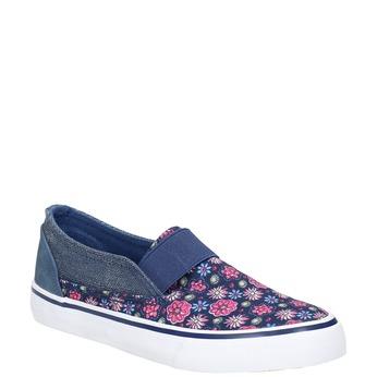 Girls' slip-on-style shoes mini-b, blue , 329-9611 - 13