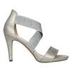Ladies' heeled sandals bata, gray , 761-2614 - 15
