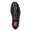 Men's leather dress shoes fluchos, black , 824-6448 - 17