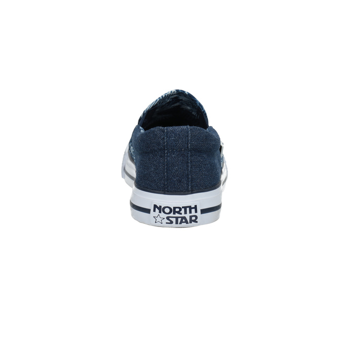 Ladies' denim slip-ons north-star, blue , 589-9440 - 17