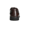 Men's casual shoes with stitching, brown , 824-4987 - 17