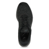 Men's black sneakers nike, black , 809-0557 - 17