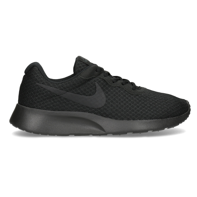 Men's black sneakers nike, black , 809-0557 - 19