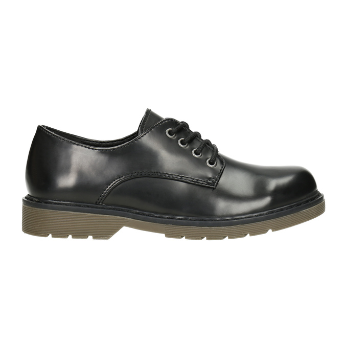 Children's Black Shoes mini-b, black , 311-6186 - 26