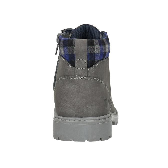 Children's winter ankle boots weinbrenner-junior, gray , 411-2607 - 17