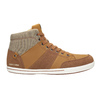 Men's high-top sneakers north-star, brown , 841-3608 - 26