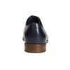 Blue leather shoes bata, blue , 826-9680 - 17