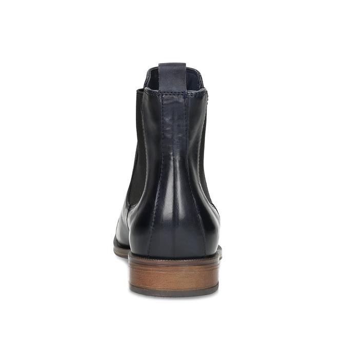 Ladies' leather Chelsea boots bata, black , 594-9636 - 15