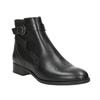 Embellished Leather Ankle Boots clarks, black , 614-6027 - 13