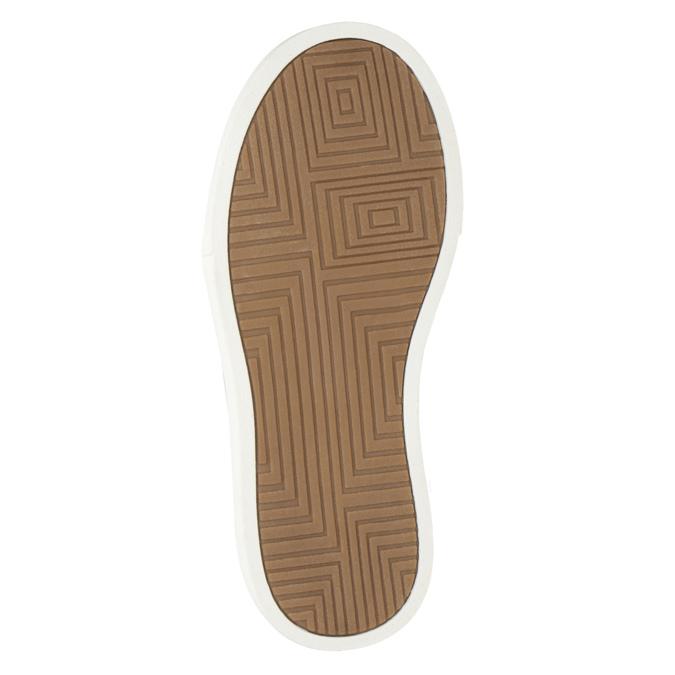 Children's High Top Shoes mini-b, brown , 291-8172 - 17