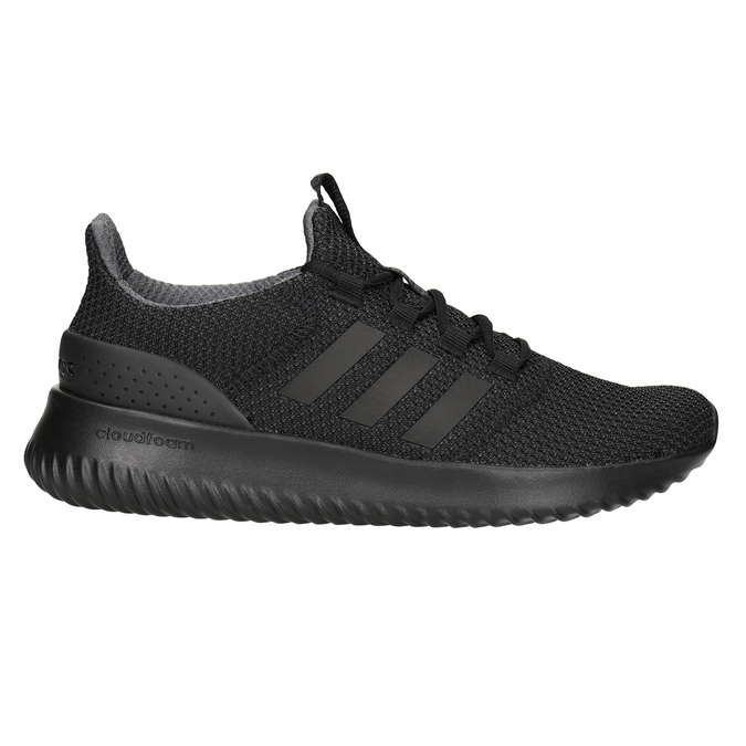 Men's Black Sneakers adidas, black , 809-6204 - 26