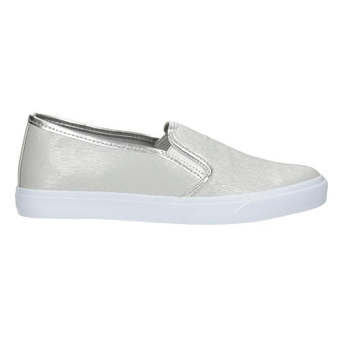 Silver Ladies' Slip-Ons north-star, silver , 511-1605 - 26