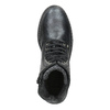 Children's Leather Lace-Up Boots bullboxer, black , 496-6016 - 15