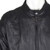 Men's Leather Jacket bata, black , 974-6154 - 16